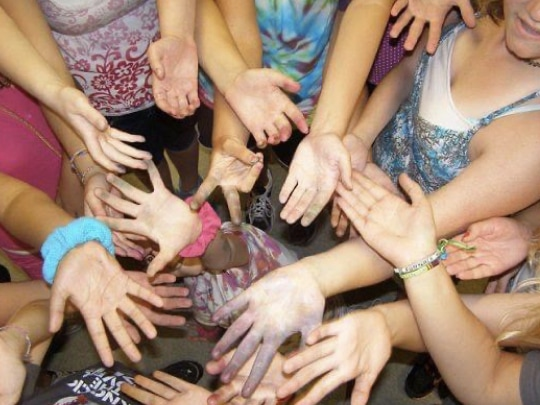 Hartman Center Camp Hands