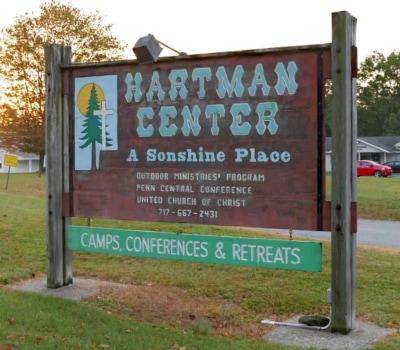 Hartman Center Sign