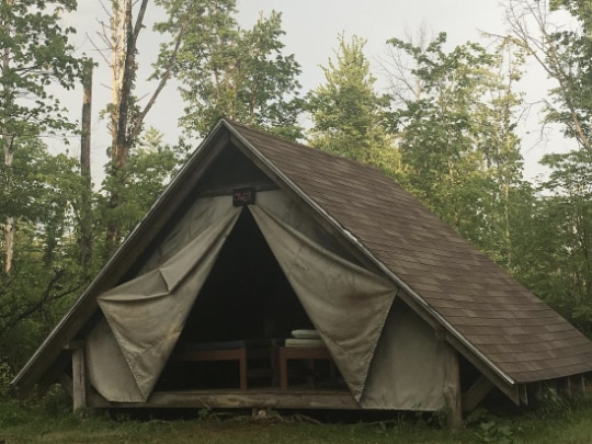 Hartman Center Pioneer Camp A-Frame